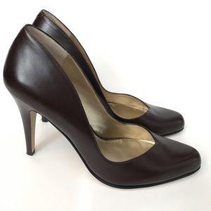 Nine West the Lucero leather pumps heels shoes 10M